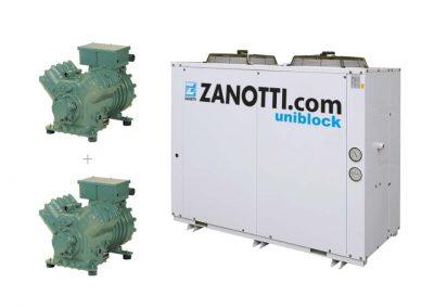 """CU-L unidad condensadora con dos compresores Twin """"Bitzer"""""""
