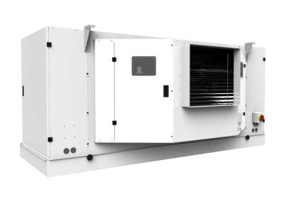 UE-SCU evaporadores centrífugos y aeroenfriadores de Salmuera