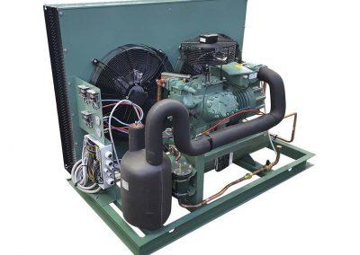 """ZH unidad condensadora abierta y compresor """"Bitzer"""""""